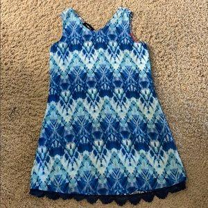 Amy Byer Girl's Reversible Dress, 12